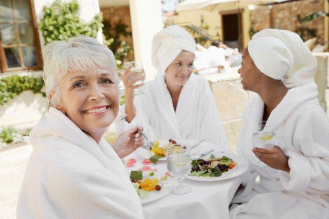 Cure thermal pour personnes âgées